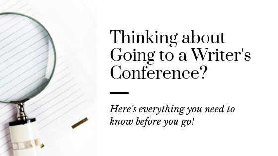 What to Expect at a Writer's Conference