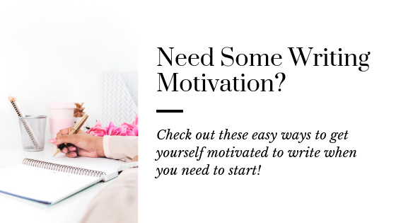 Motivate Yourself to Write | Productivity Tips for Writers | Writing Tips | How to be a Productive Writer | How to Increase Your Productivity as a Writer | Tips for Writers | How to be a Productive Writer