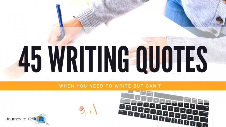 45 Writing Quotes when You Need to Write but Can't