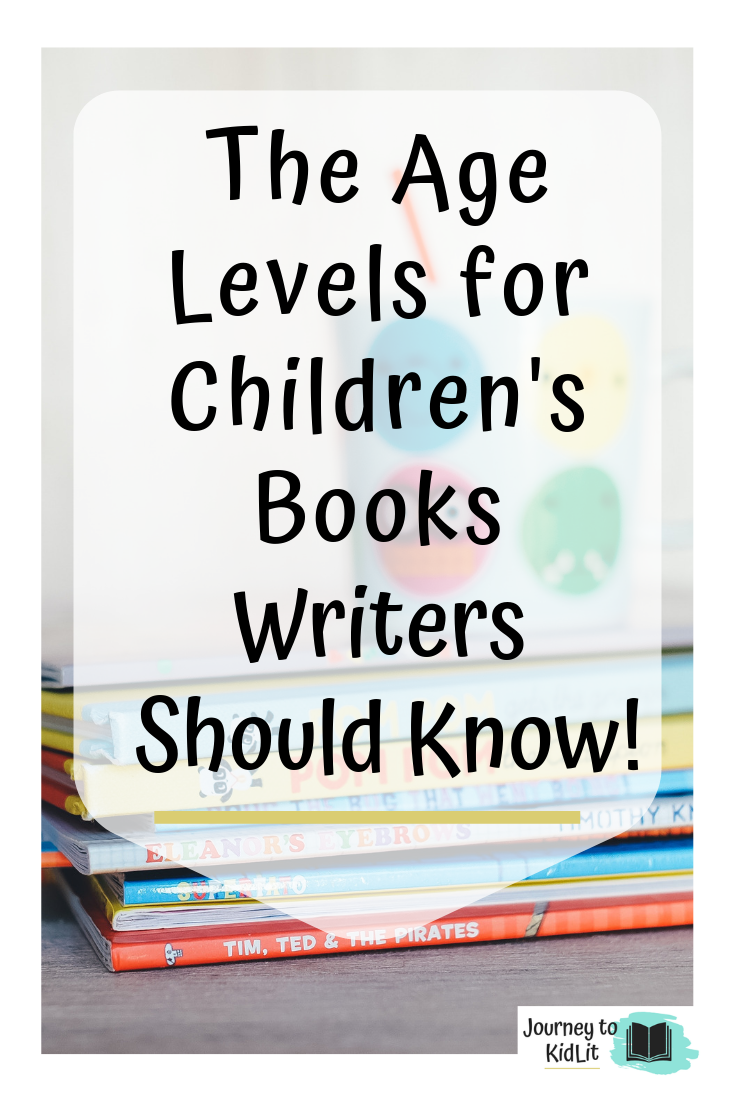 The Age Levels for Children's Books Writers Should Know