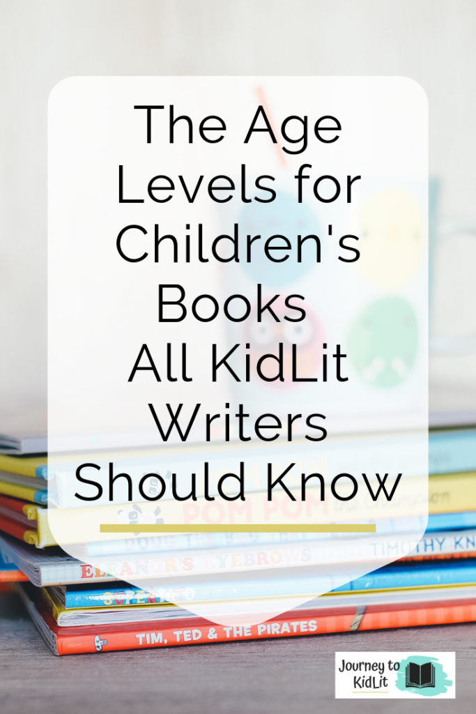 Age Levels for Children's Books Writers Should Know