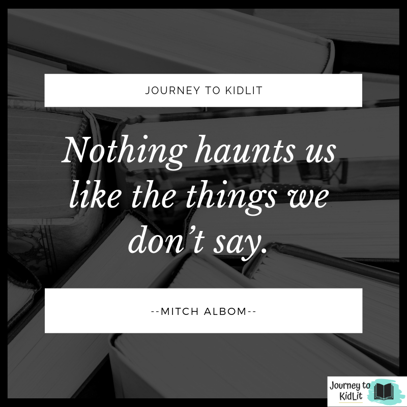 Quotes for Writers Mitch Albom