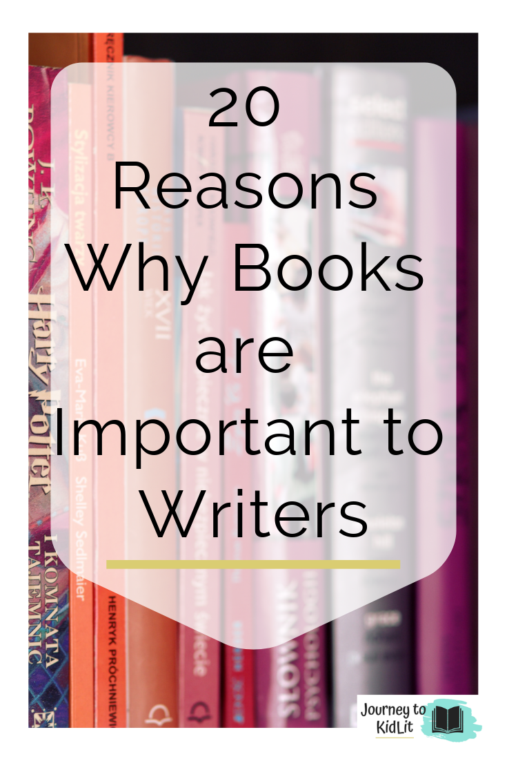 Why Books are Important to Writers