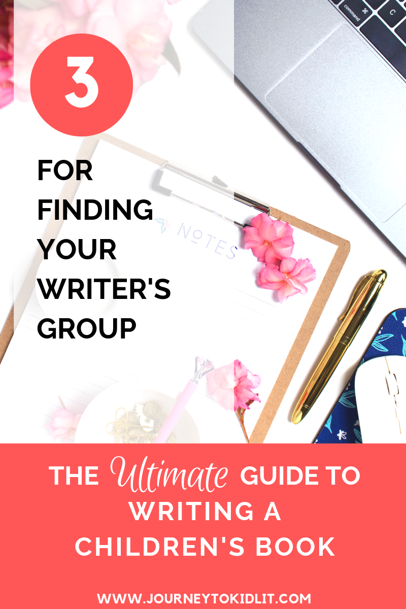 Find a Writer's Group when Writing Children's Books