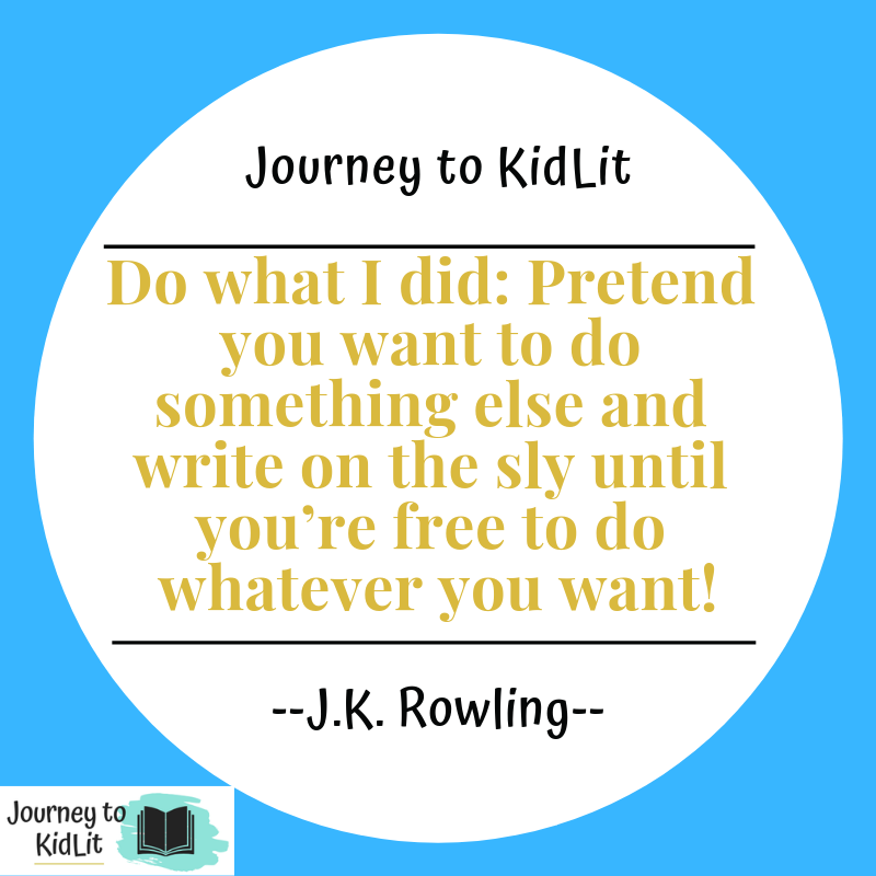 Writing Quotes  JK Rowling