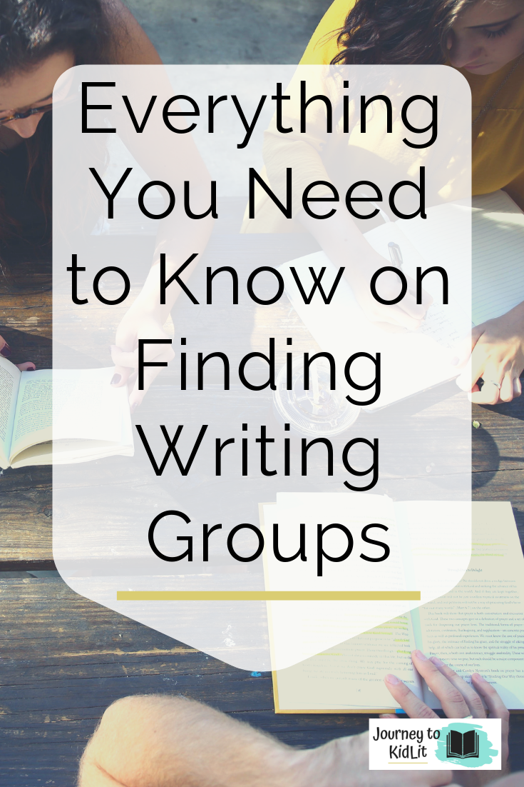 Finding writing groups in your area