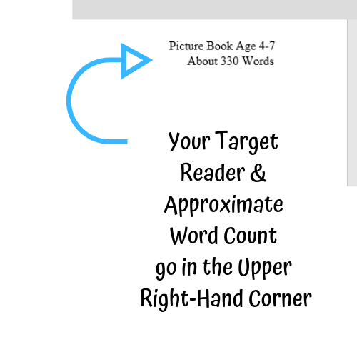 Formatting Your Children's Manuscript Target Reader
