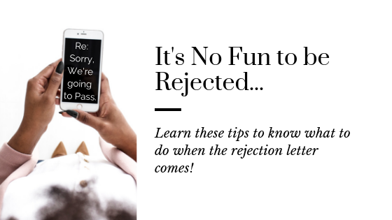 Truth about being Rejected as a Writer | Accepting Rejection | Writer Rejection | What to do When You've been Rejected | Rejection in the Publishing Industry