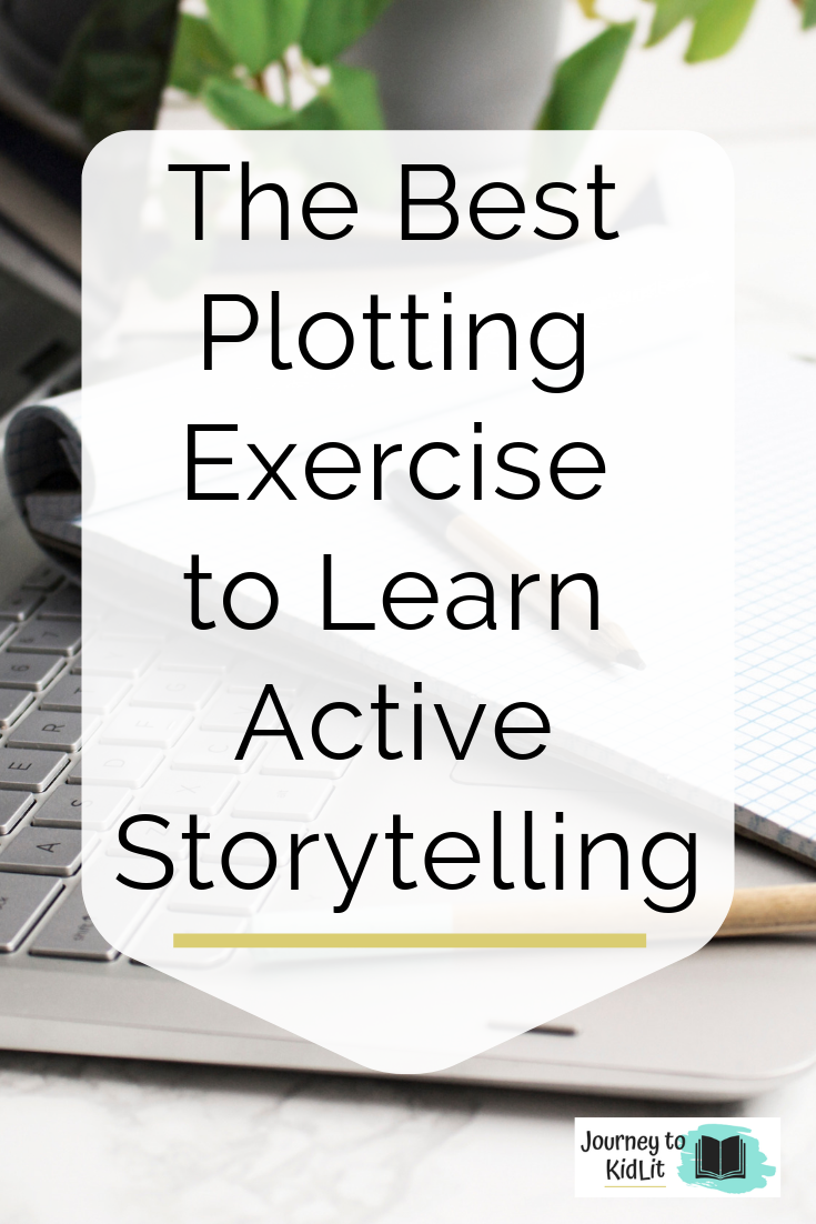 Best Plotting Exercise for Active Writing | How to write in an active voice