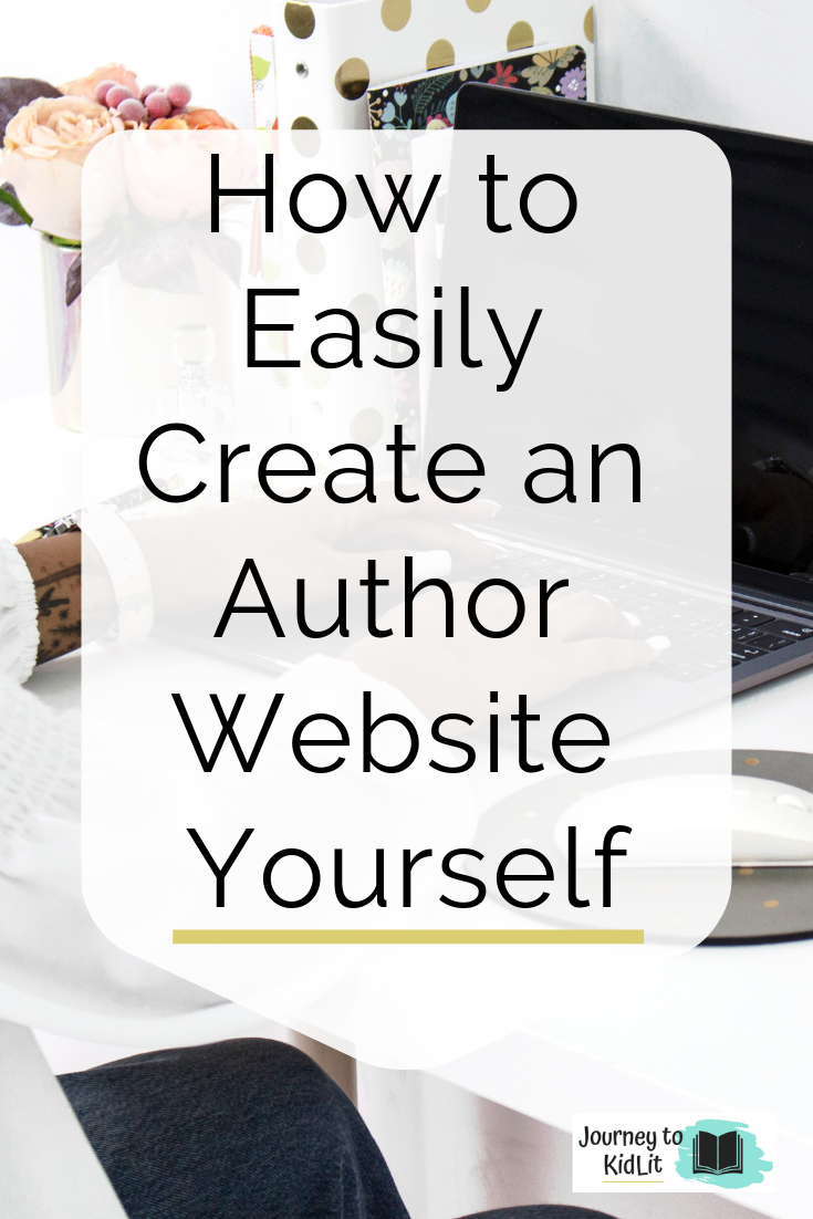 Create an Author Website Yourself | Step by Step Guide to Create an Author Website