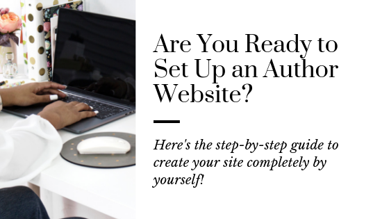 How to Easily Create an Author Website Yourself