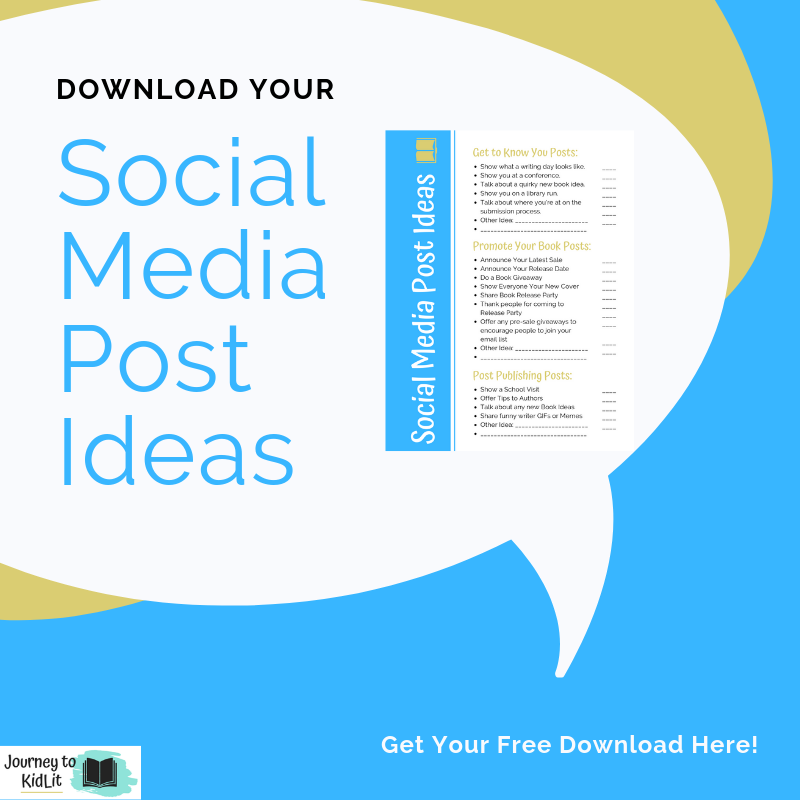 Social Media Post ideas for Authors | What to Post to Social Media
