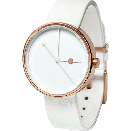 Mother's Day Gifts for Writers   Rose Gold White Watch