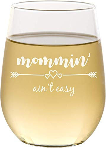 Mother's Day Gifts for Writers   Stemless Wine Glass