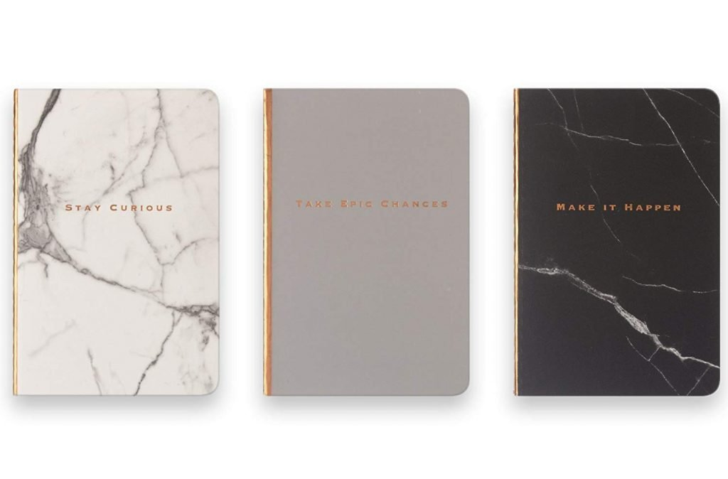 Mother's Day Gifts for Writers | Marble Notebook journals