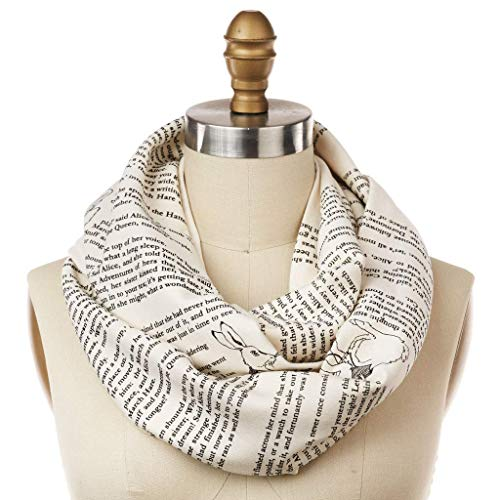 Mother's Day Gifts for Writers   Alice and Wonderland Scarf
