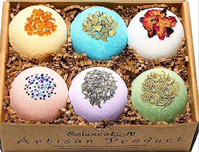Mother's Day Gifts for Writers | Bath Bombs