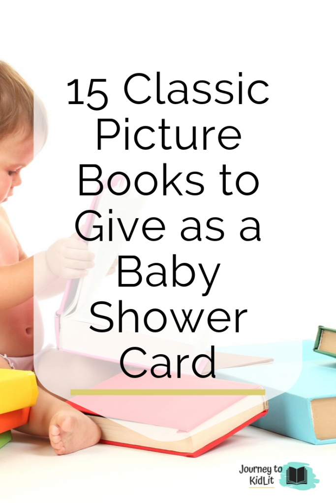 Baby Shower Card Picture Book Ideas | Books to use as a Baby Shower Card