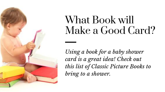 15 Classic Picture Books to Give as a Baby Shower Card