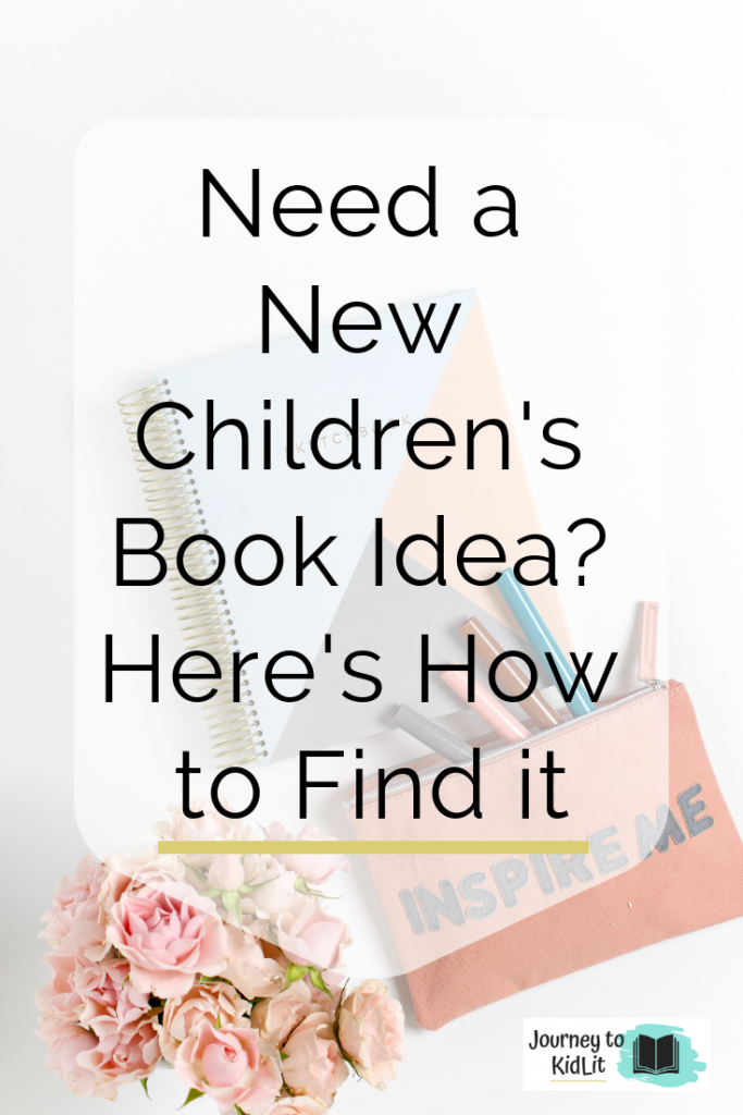 New Children's Book Idea Finder | Tips to find Story Ideas