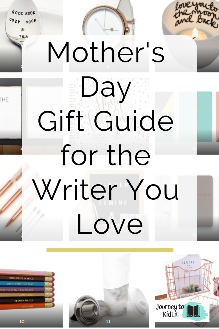 Mother's Day Gift Guide | Gifts for Writers