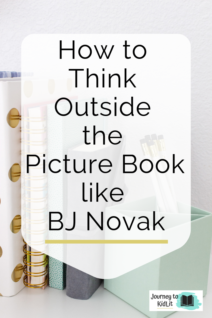 BJ Novak the Book with No Pictures Book Review | Childrens book writing tips