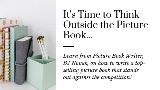 How to Think Outside the Picture Book like BJ Novak
