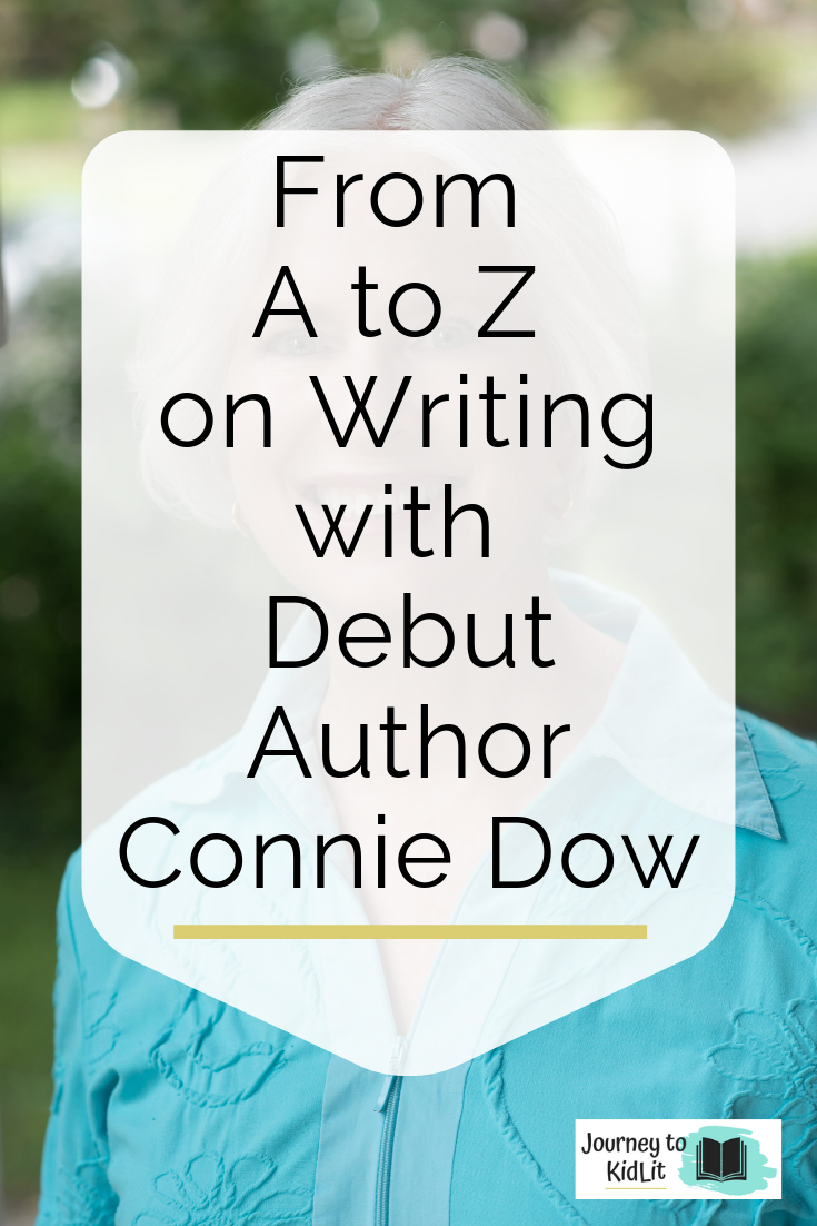 Debut Picture Book Author Connie Dow interview | Writing tips for new authors