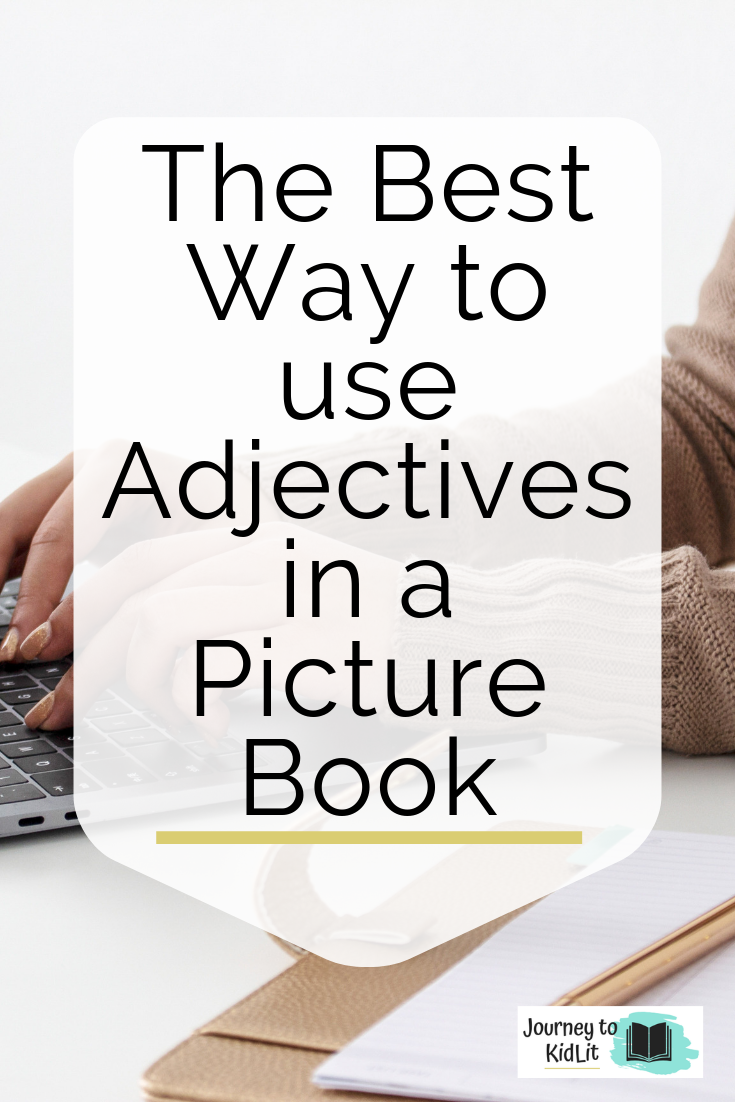 Use adjectives in a picture book to enhance your story | Free character worksheet