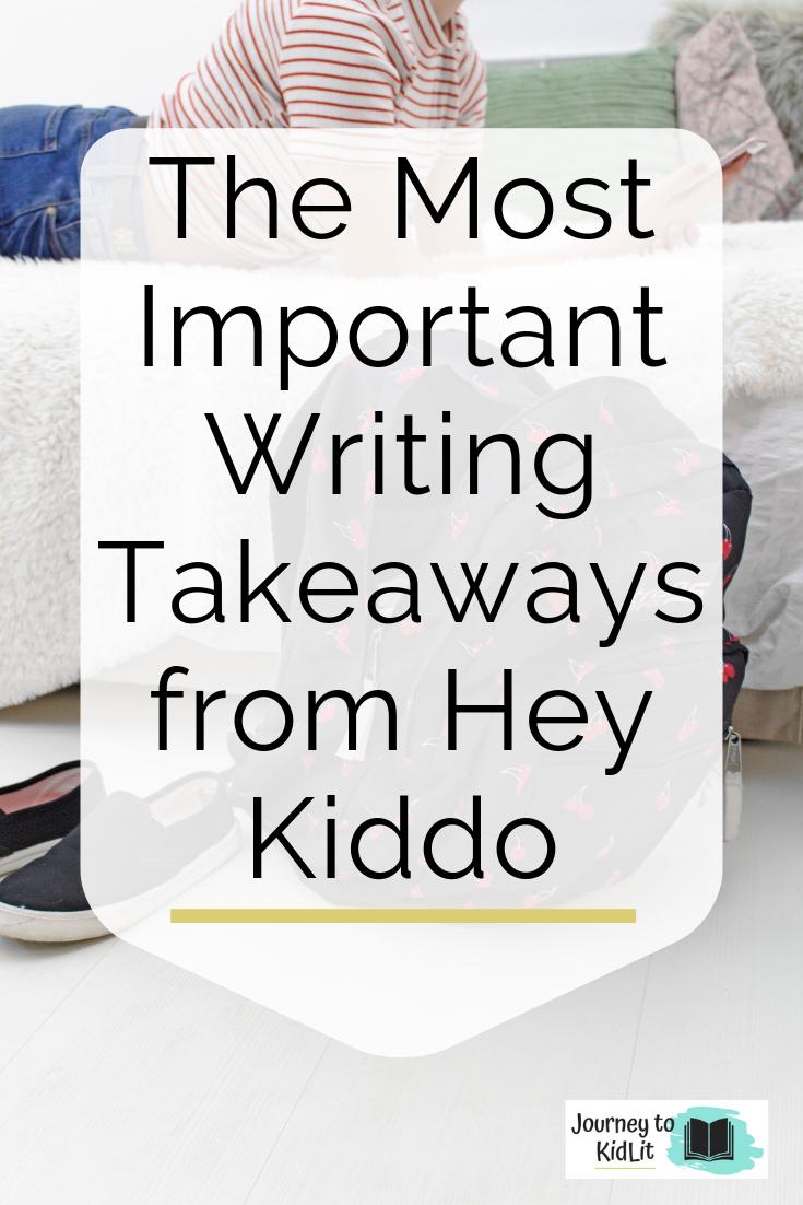 Hey Kiddo Book Review | Writing Takeaways from Hey Kiddo