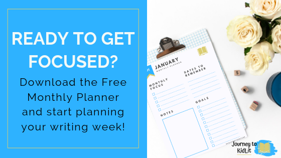 Monthly Planner | How to Plan Your Writing Time