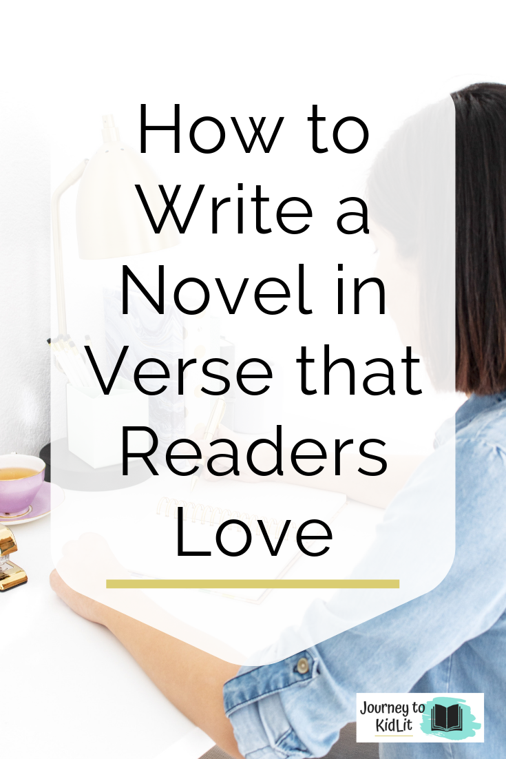 How to Write a Novel in Verse that Readers Love | Writing Tips