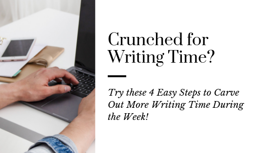 4 Easy Steps to Write More with Less Time