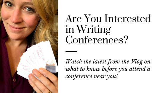 Author Confessional: Writing Conferences 101