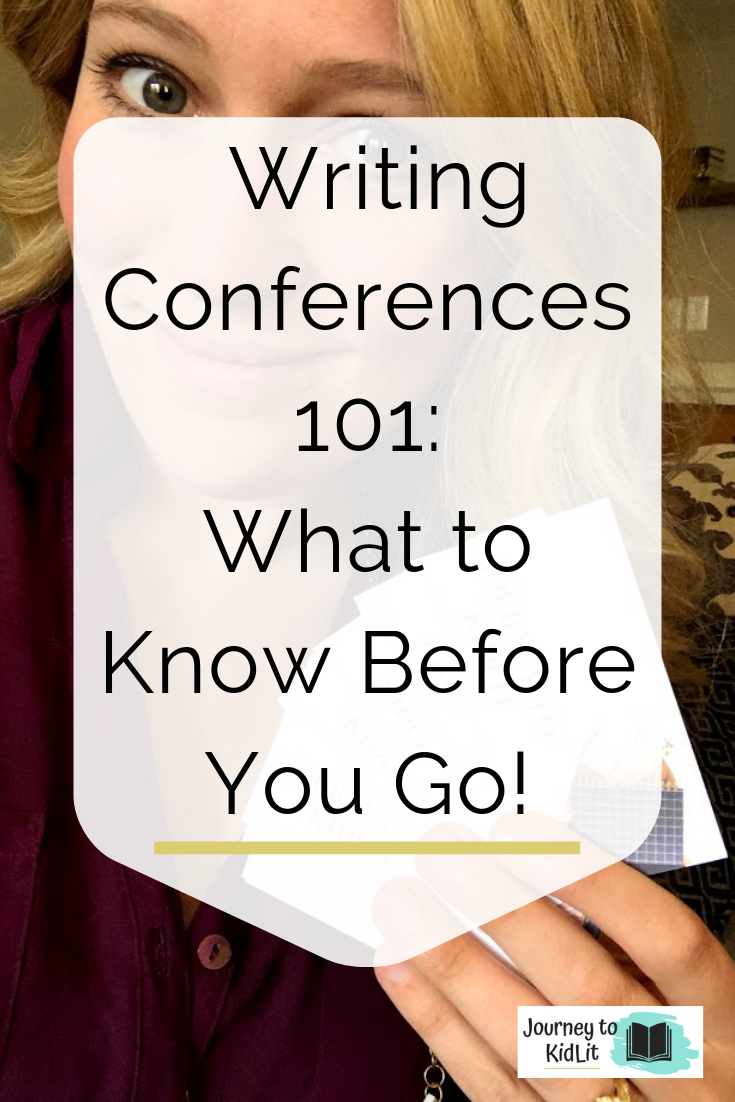 Writing Conferences 101 | What to know before you go