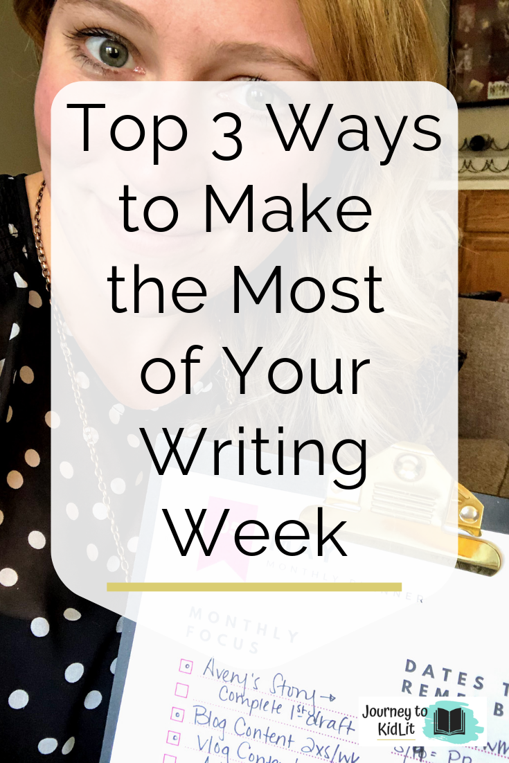 How to make the most of your writing week | Productivity Tips for Writers