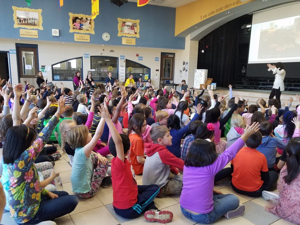Debut Picture Book Author Suzanne Lipshaw School Visit