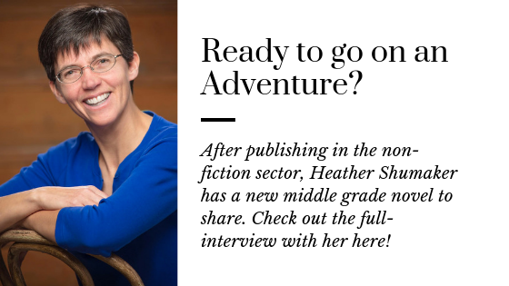 Heather Shumaker's New Adventure in Castle Cary