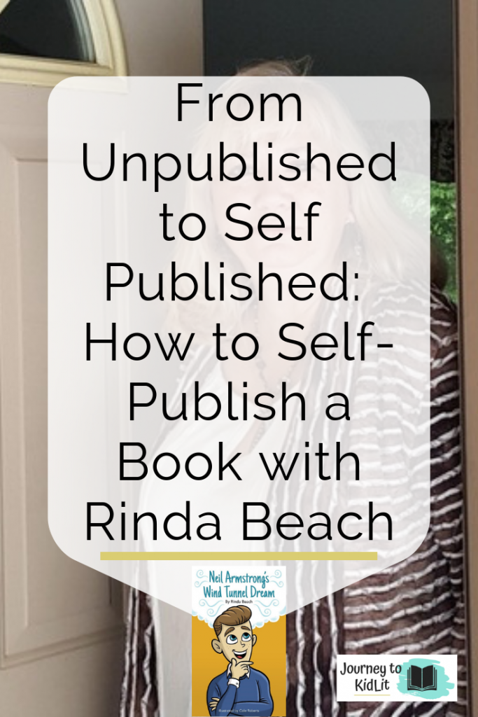 How to Self Publish a Book with Rinda Beach
