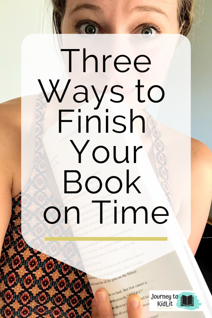 How to Finish Your Book on Time | 3 Tricks
