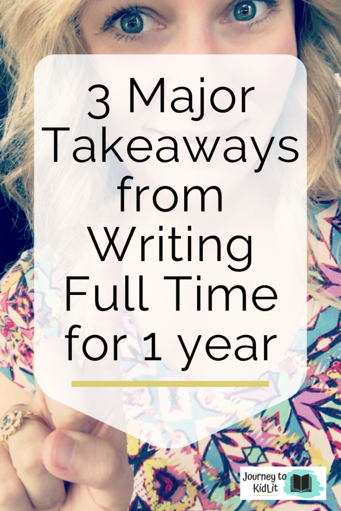 What I Learned Writing Full Time for a Year | Writing Tips