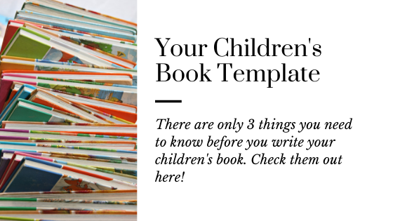 Free Children's Book Template | How to Write a Children's Book
