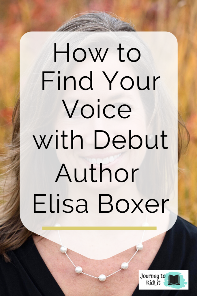 Find Your Voice Elisa Boxer | Non-fiction Picture Book Author