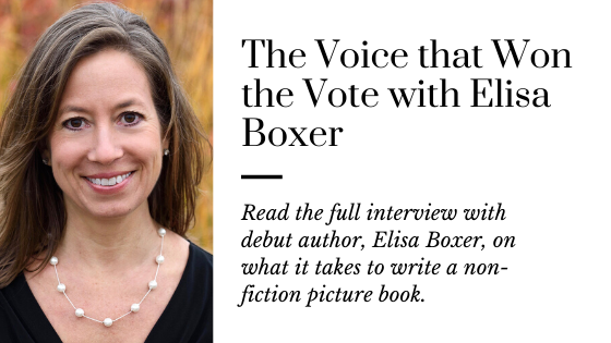 How to Find Your Voice with Debut Author Elisa Boxer