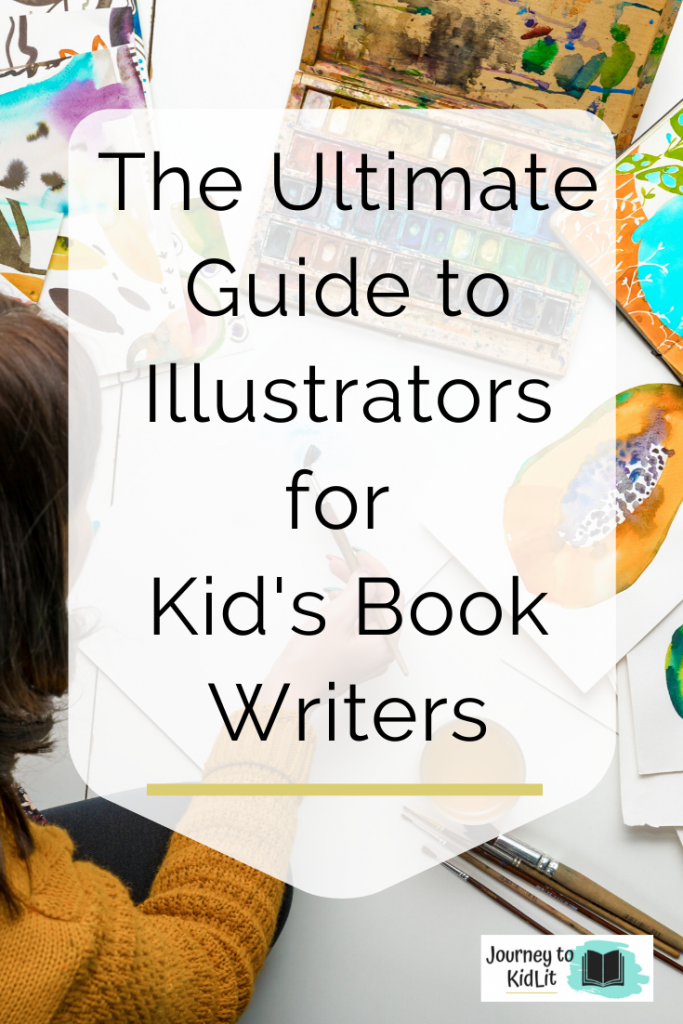 The ultimate guide to illustrators for your kid's book | Children's book illustrator