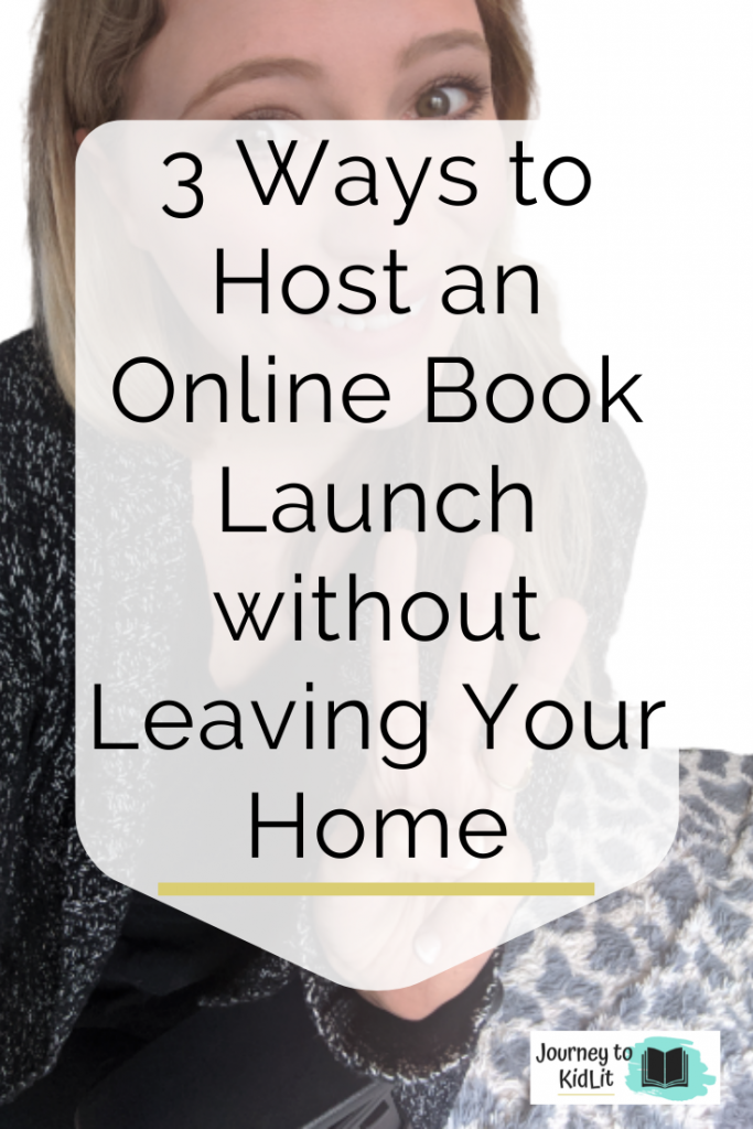 Host Your Book Launch Online | Book Marketing Tip