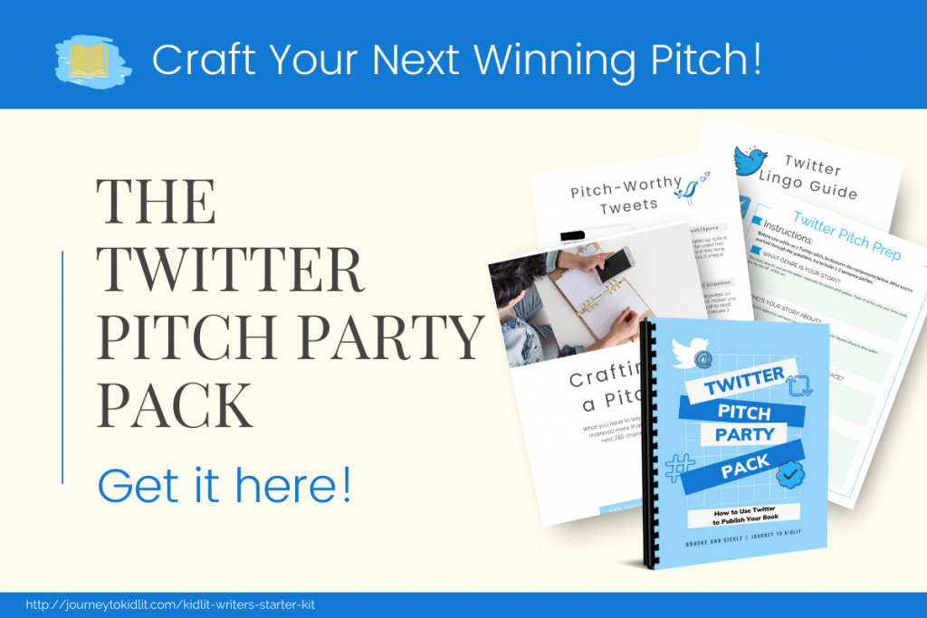 Twitter Pitch Party Pack | Learn to Write a Twitter Pitch