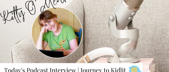 Interview author Kitty O'Meara