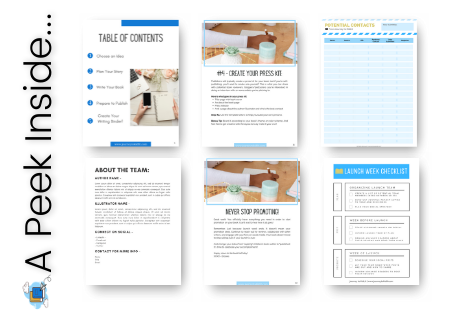 Kidlit Marketing Launch Kit Pages