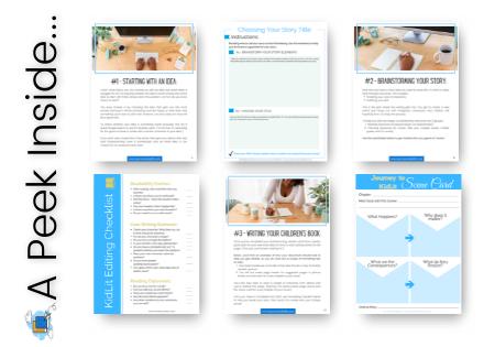 Kidlit Writer's Starter Kit - Pages 2